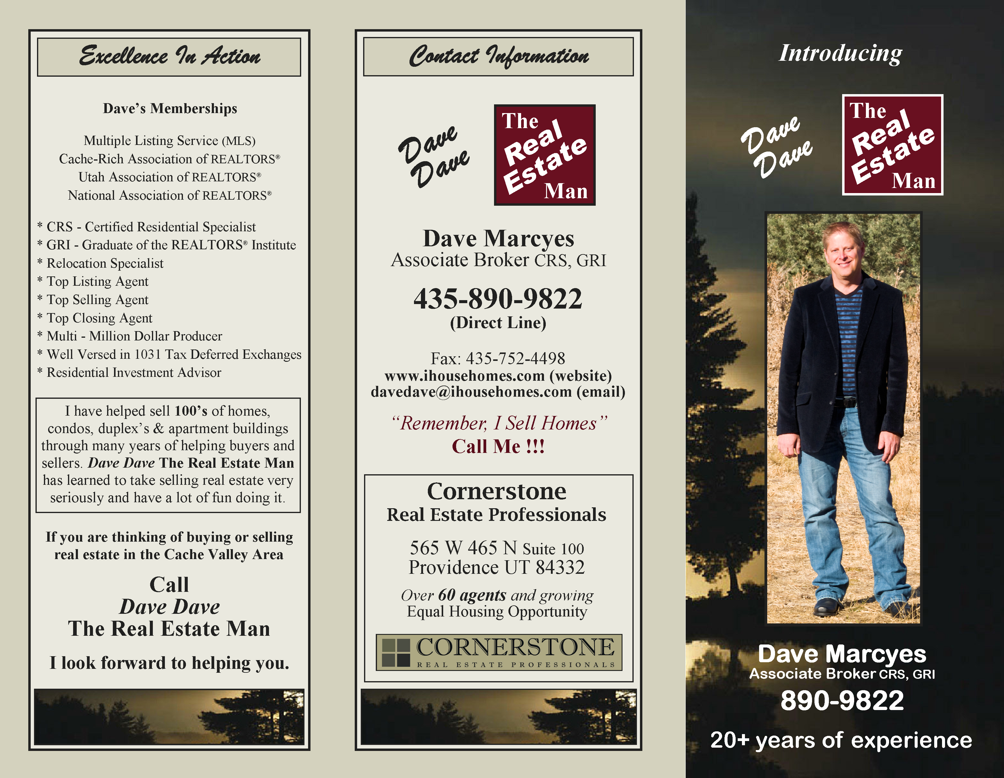 Personal Brochure page 1